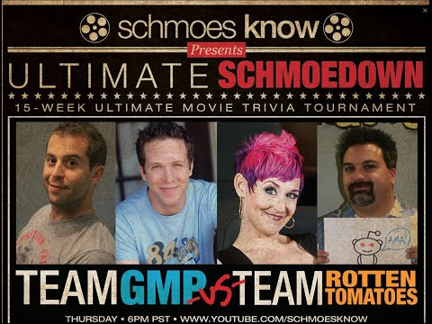 TEAM GMP VS TEAM ROTTEN TOMATOES (MATCH 7 RND 1 2015 ULTIMATE SCHMOEDOWN)