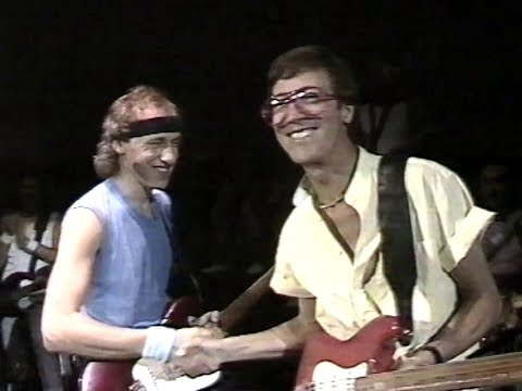 [50 fps] Going Home (Local Hero) - Dire Straits & Hank B. Marvin - 1985 - Wembley, London LIVE