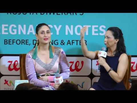 UNCUT - Kareena Kapoor Khan At The  Book Launch Of Rujuta Di