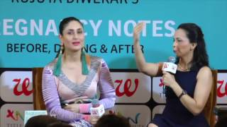 UNCUT - Kareena Kapoor Khan At The  Book Launch Of Rujuta Diwekar's Pregnancy Notes