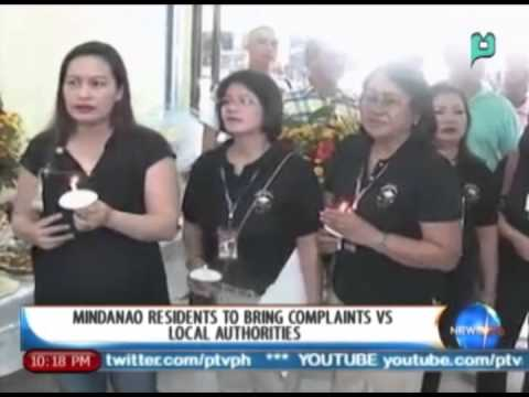 NewsLife: Mindanao residents to bring complaints vs. local authorities