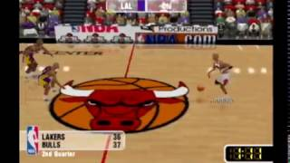 NBA Courtside 2: Featuring Kobe Bryant - LA Lakers vs Chicago Bulls Full Exhibition Game