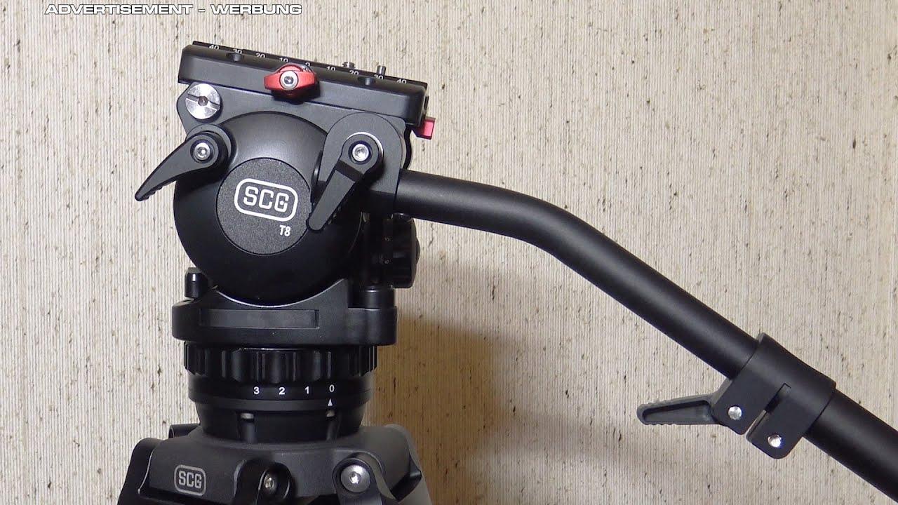 SCG T8CF2 AA carbon fiber tripod system review