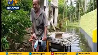 Maximum Area of Gobardanga Flooded   Due to Heavy Rain From 2 Weeks   in Bengal
