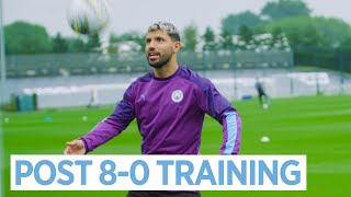 PEDAL TO THE FLOOR | POST 8-0 TRAINING! | City 8-0 Watford