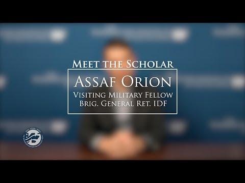 IDF Brig. Gen. (Ret.) Assaf Orion: Israel's Strategic Challenges