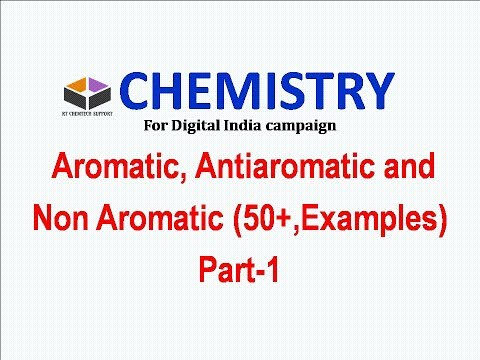 CSIR-NET/Gate/ +1,+2-Aromaticity and Huckle rule (In English) Part 1 For Digital India Campaign