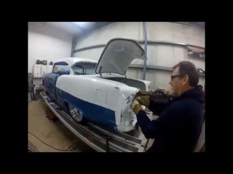 Metalworks Classic Auto Restoration Pulling A Smashed 1955 Chevy