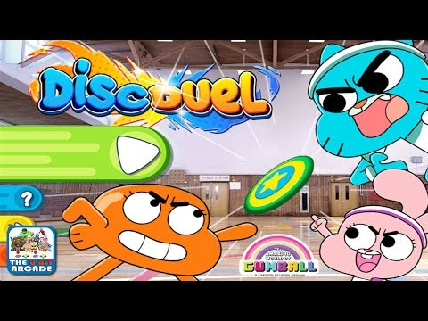 The Amazing World Of Gumball: Disc Duel - A Super-Sized Air Hockey Game (Cartoon Network Games)