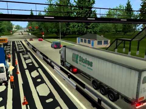 Russian Truck Simulator 2.0 for GTS 1.32 / Карта России 2.0