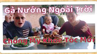 Vlog 593 ll Ăn Nguyên Con Gà Nướng Nước Tương Ngoài Trời Sông Nước Hữu Tình Như Cái Bình