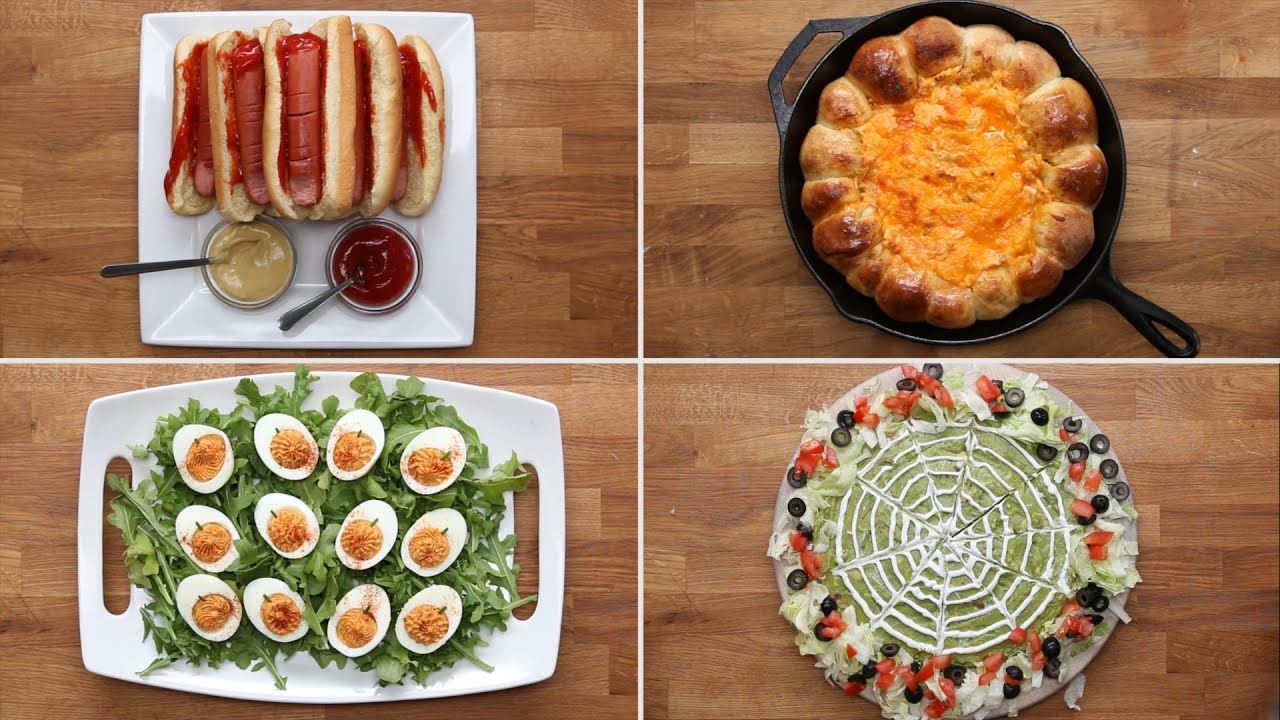 4 easy halloween appetizers youtube - Easy Halloween Appetizer Recipes With Pictures