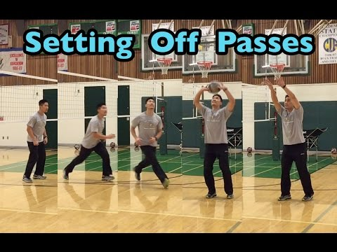 Setting Passes OFF The Net - How To SET A Volleyball Tutorial (part 4/5)