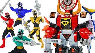 Фото Power Rangers Samurai Bull Megazord Transforming  Dudupoptoy