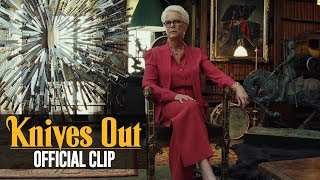 "Knives Out (2019 Movie) Official Clip ""Observer of the Truth"" – Daniel Craig, Jamie Lee Curtis"