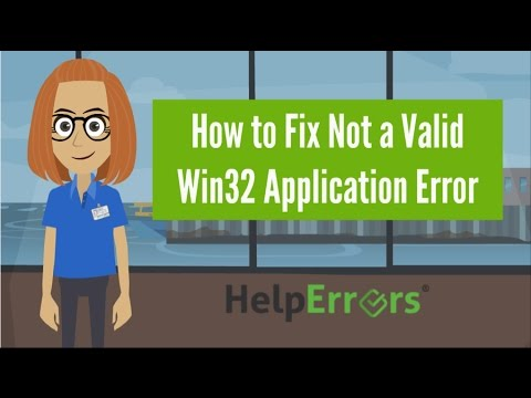 How to Fix Not a Valid Win32 Application Error