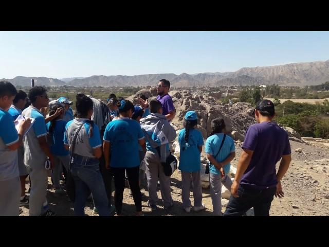 Complejo Arqueológico de Paredones en Nasca