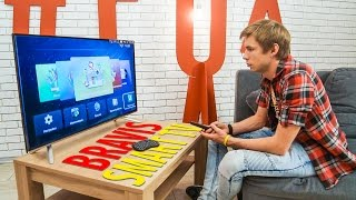 Огляд смарт телевізорів BRAVIS LED-40D3000 і LED-32D3000 на Android