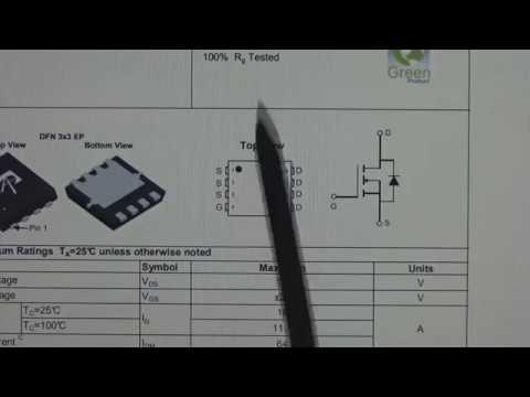 Ноутбук Lenovo Ideapad 320-15AST не включается. Пробит транзистор AON7408