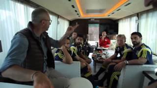 Lukoil Futbolun Devleri #Beşiktaş ve #Fenerbahçe Reklam Kamera Arkası
