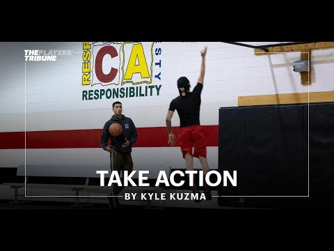 Kyle Kuzma gives back to his hometown of Flint | Take Action