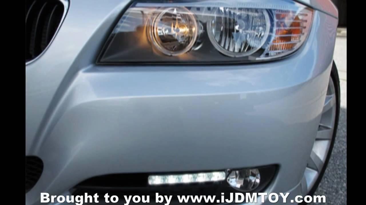 Ijdmtoy Led Daytime Running Lights For 2011 Bmw E90 328I-3036