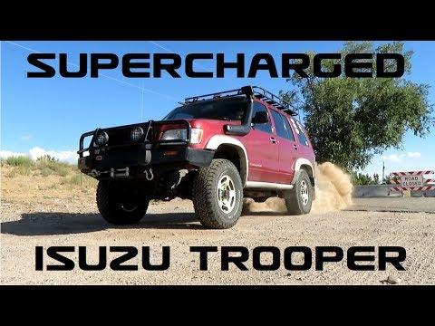 Isuzu SUPER Trooper! - Supercharged Trooper Burnout!
