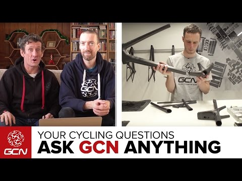 Should I Buy A Carbon Or Aluminium Bike? Ask GCN Anything About Cycling