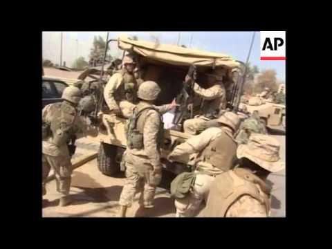 GWT: WRAP Looting, German embassy, rubble, US security measures