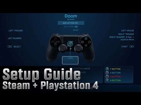 Steam + Playstation 4 How To Setup Steam To Work With A PS4