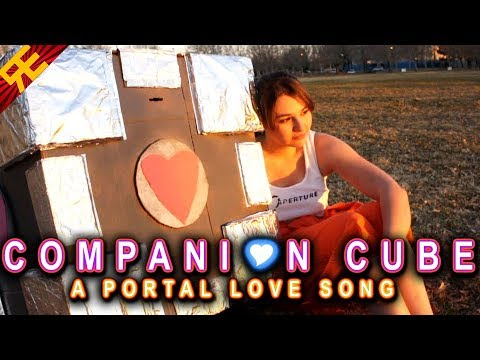 Companion Cube: A Portal Love Song (GAME PARODY)