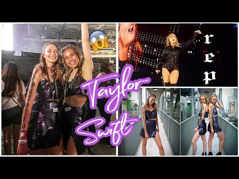VIP TAYLOR SWIFT VLOG  | The best concert ever...Get ready with me!