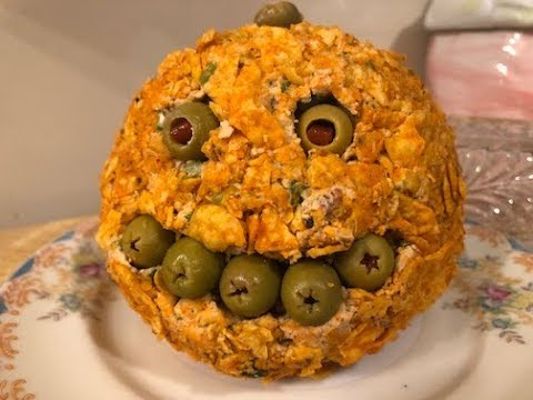 Dollar Tree Halloween Party Cheese Ball
