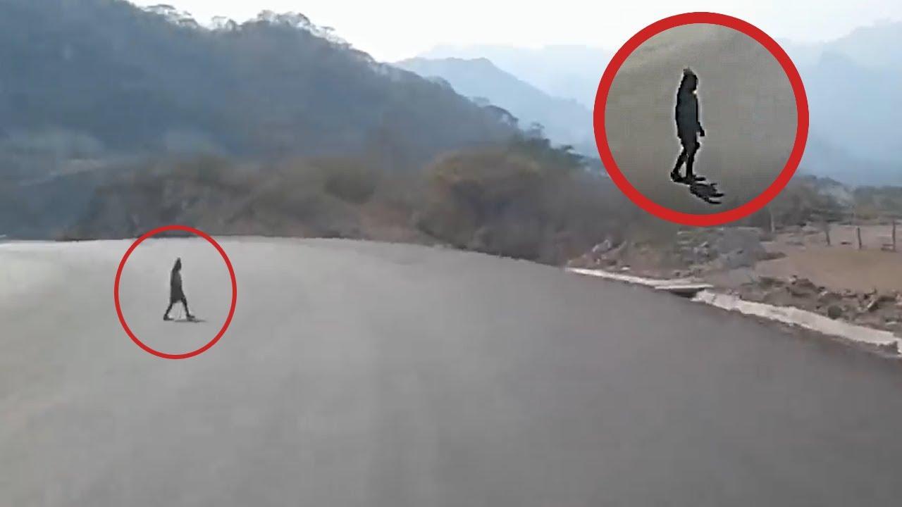 7 Video Đáng Sợ Được Quay Trên Đường Và Vào Ban Đêm