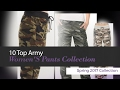 10 Top Army Women'S Pants Collection Spring 2017 Collection