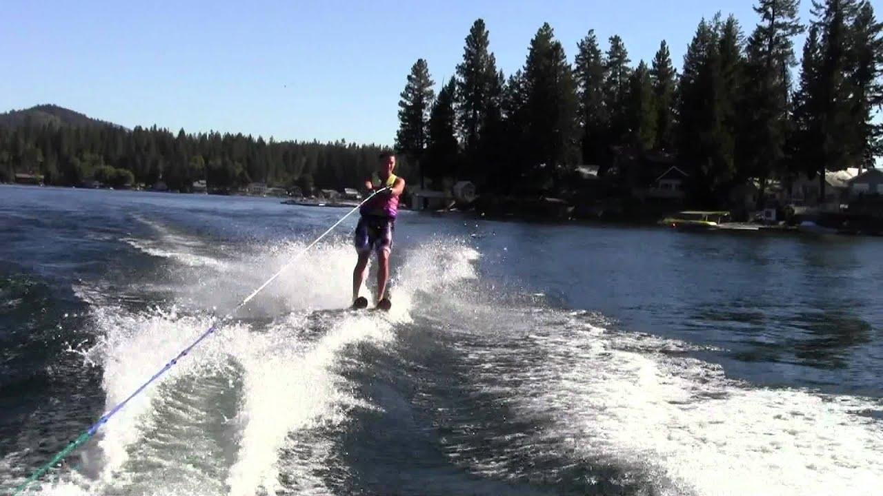 Two ski around diamond lake wa youtube for Diamond lake fishing report