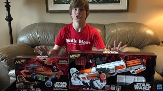 "Nerf Star Wars ""The Force Awakens"" Blasters!"