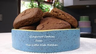 Vegan Gingernut Cookies
