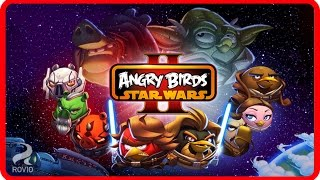 Angry Birds Star Wars II - 2. Escape To Tatooine - Bird Side Game Walkthrough Levels 1-11