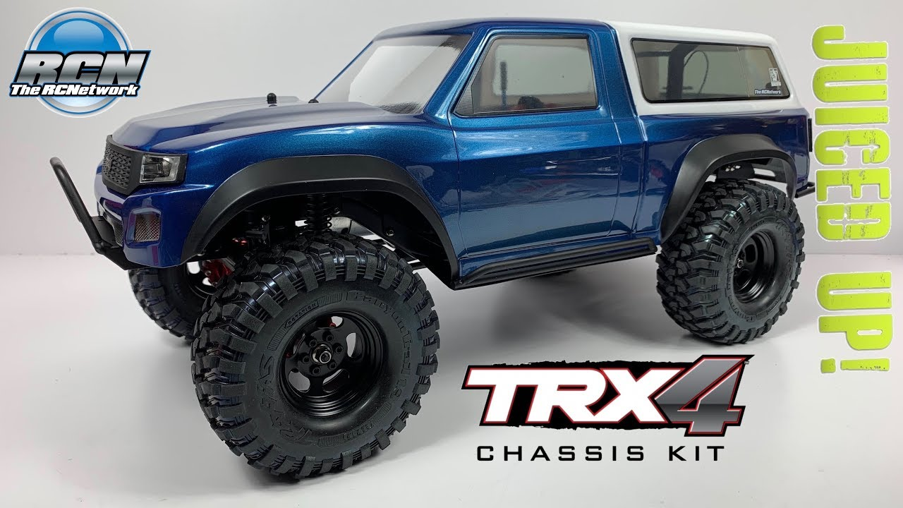 The Best Scaler RC Available?🤔 Traxxas TRX-4 Chassis Kit Reveal