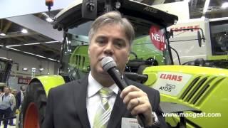 Mietitrebbie e trattori Claas a #eima2014