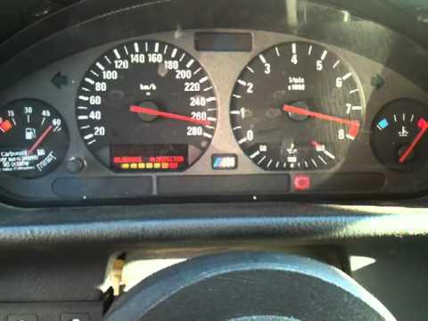 Bmw E46 M3 >> Controle du tableau de bord BMW M3 e36 3.2L - Check ...