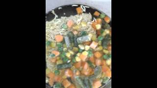 #1 Ranan Noodle Soup & Mandarin Orange Cake