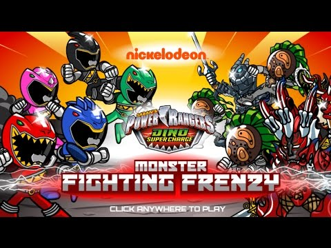 Jogo Power Rangers Dino Charge: Monster Fighting Frenzy Online Gratis