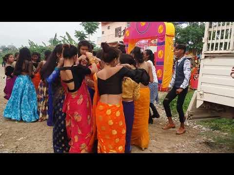 New Tharu Wedding Dance Chitwan Vs Nawalparasi // Lalpuriya...