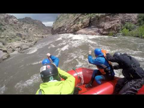 High water rafting Arkansas River Royal Gorge