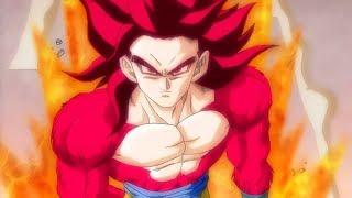 Super Saiyan God Super Saiyan 4 Goku is Born