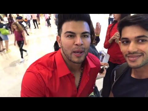 Dubai fitness expo 2017 Day 2 - Sahil Khan Jeff Seid