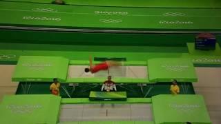 Выступление #2 в Рио - Прыжки на батутах. Финал. Мужчины. Дмитрий Ушаков
