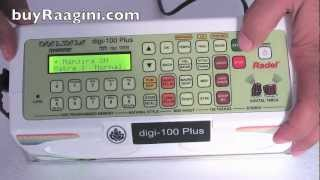 Radel Digi 100 Plus Electronic Tabla for Sale with optional Manjira Sounds